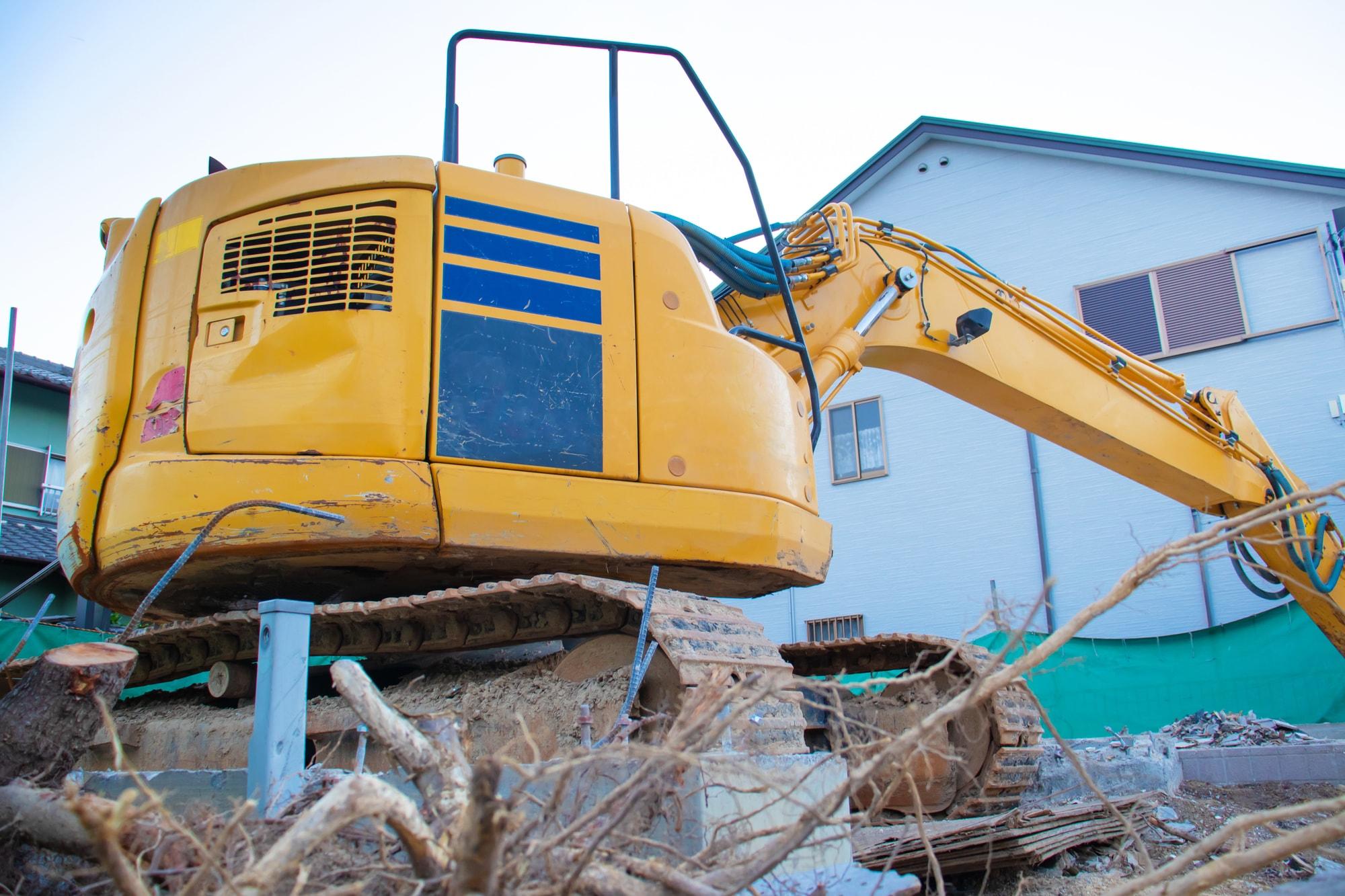 解体工事・産業廃棄物・収集運搬業